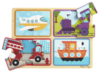 Image for Natural Play Wooden Puzzle: Ready, Set, Go, 11-3/4 x 8-3/4 Inches from School Specialty
