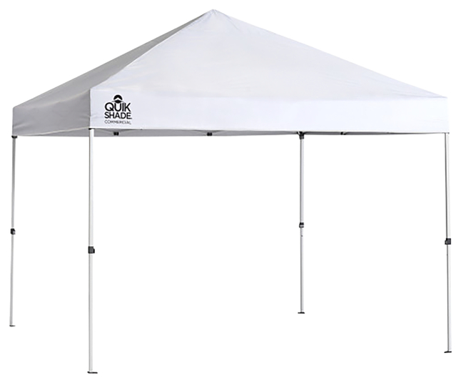 Image for Quik Shade Commercial C100 10 X 10 Ft. Straight Leg Canopy - White from School Specialty