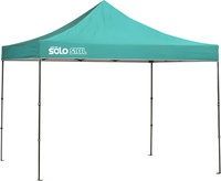 Image for Quik Shade Solo Steel 100 10 X 10 Ft. Straight Leg Canopy - Turquoise from SSIB2BStore