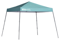 Image for Quik Shade Solo Steel 64 10 X 10 Ft. Slant Leg Canopy - Turquoise from SSIB2BStore
