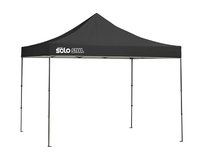Image for Quik Shade Solo Steel 100 10 X 10 Ft. Straight Leg Canopy - Black from SSIB2BStore