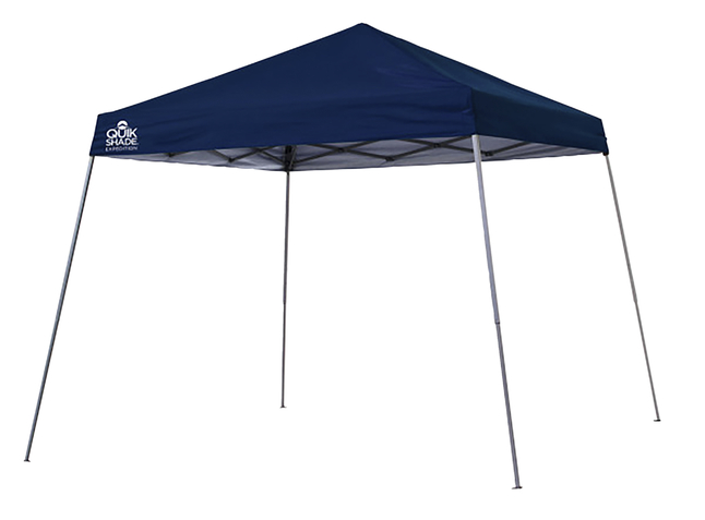 Image for Quik Shade Expedition Ex81 12 X 12 Ft. Slant Leg Canopy - Midnight Blue from School Specialty
