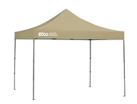 Image for Quik Shade Solo Steel 100 10 X 10 Ft. Straight Leg Canopy - Khaki from SSIB2BStore