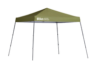 Image for Quik Shade Solo Steel 64 10 X 10 Ft. Slant Leg Canopy - Olive from School Specialty