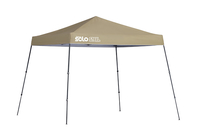 Image for Quik Shade Solo Steel 64 10 X 10 Ft. Slant Leg Canopy - Khaki from School Specialty