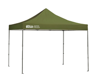Image for Quik Shade Solo Steel 100 10 X 10 Ft. Straight Leg Canopy - Olive from School Specialty