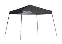 Image for Quik Shade Solo Steel 64 10 X 10 Ft. Slant Leg Canopy - Black from School Specialty