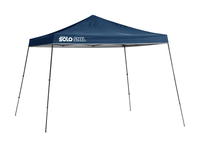 Image for Quik Shade Solo Steel 90 11 X 11 Ft. Slant Leg Canopy - Midnight Blue from School Specialty
