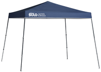 Image for Quik Shade Solo Steel 72 11 X 11 Ft. Slant Leg Canopy - Midnight Blue from School Specialty