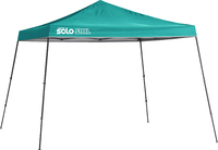 Image for Quik Shade Solo Steel 90 11 X 11 Ft. Slant Leg Canopy - Turquoise from School Specialty