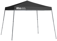 Image for Quik Shade Solo Steel 72 11 X 11 Ft. Slant Leg Canopy - Black from School Specialty