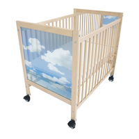 Image for Whitney Brothers Tranquility Infant Crib, 40 x 27 x 37 Inches from School Specialty
