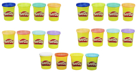 Image for Play-Doh Assorted Colors, 4 Ounces, Set of 20 from School Specialty