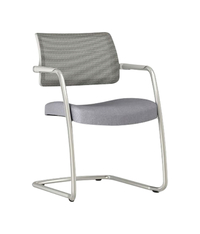Image for AIS Devens Side Chair, 22-1/2 x 23 x 32-1/2 Inches, Gray from School Specialty