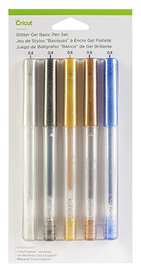 Image for Cricut Gel Pen, Medium Point, Assorted Glitter Colors, Set of 5 from SSIB2BStore