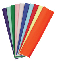 Kolorfast Non-Bleeding Craft Tissue Paper, 20 x 30 Inches, Assorted Colors, Pack of 50 Item Number 214944