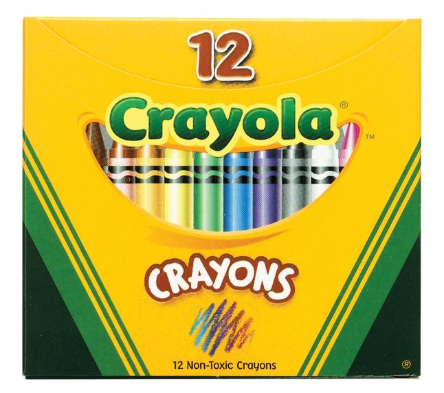 Standard Crayons, Item Number 215007