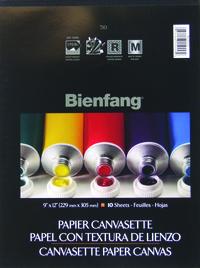 Canvas Pad, Item Number 215562