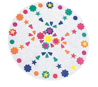 Rock-Tenn Paper Pizza Round Design Circle, 10 Inch Diameter, Pack of 100 Item Number 216713