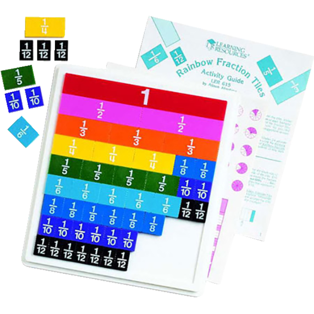 Fraction Games, Books, Activities, Fraction Books, Fraction Activities Supplies, Item Number 222144