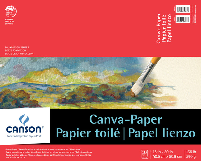 Canvas Pad, Item Number 222873