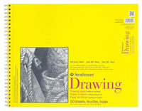 Strathmore 300 Series Drawing Pad, 14 x 17 Inches, 70 lb, 50 Sheets Item Number 234345