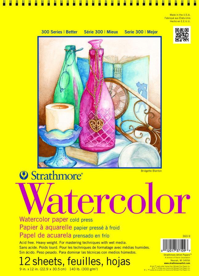 Watercolor Paper, Watercolor Pads, Item Number 234387