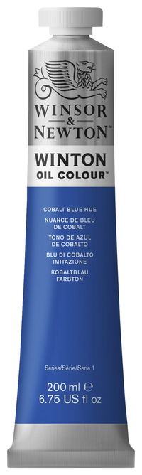 Winsor & Newton Winton Oil Color, 6.75 Ounce Tube, Cobalt Blue Hue Item Number 237894