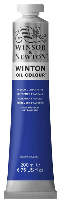 Winsor & Newton Winton Oil Color, 6.75 Ounce Tube, French Ultramarine Item Number 237903