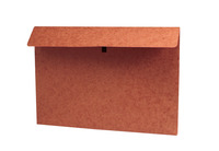 Star Products Red Fiber Envelope with Hook and Loop Closure, 20 x 26 x 2 Inches, Red Item Number 239625