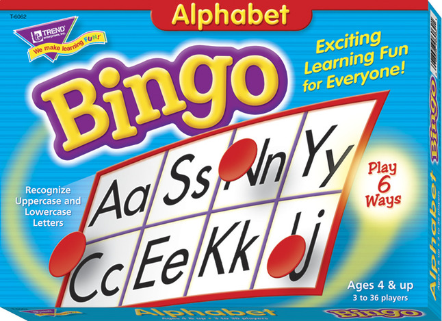 Alphabet Games, Alphabet Activities, Alphabet Learning Games Supplies, Item Number 241529