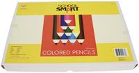 School Smart Colored Pencils, Assorted Colors, Set of 250 Item Number 245789