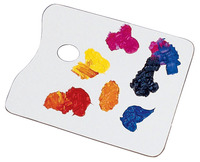 Paint Palette, Artist Palette, Art Palette Supplies, Item Number 246054