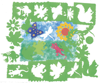 Stencils and Stencil Templates, Item Number 246127