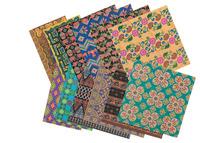 Roylco Assorted Pattern Global Village Design Paper, Assorted Colors, 48 Sheets Item Number 247818