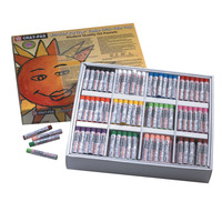 Sakura Cray-Pas Junior Artist Jumbo Oil Pastel Colorpack, Assorted Colors, Set of 288 Item Number 247933