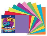 Tru-Ray Sulphite Construction Paper, 12 x 18 Inches, Assorted Colors, Pack of 50 Item Number 247969