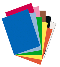 Riverside 3D Construction Paper, 18 x 24 Inches, Assorted Colors, Pack of 50 Item Number 248667