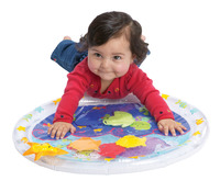 International Playthings My First Water Play Mat, 20 x 17 Inches Item Number 251838