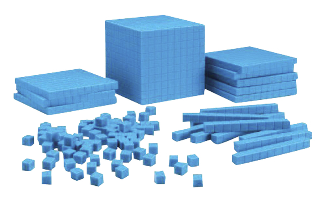 Base 10 Blocks, Place Value, Base 10, Base 10 Math Supplies, Item Number 252504