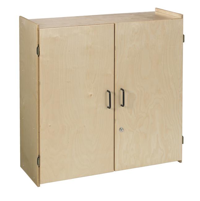 Childcraft Locking Wall Storage Cabinet, Storage Cabinets With Lock
