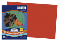 SunWorks Heavyweight Construction Paper, 12 x 18 Inches, Orange, 50 Sheets Item Number 299528