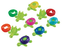 Learning Resources Smart Splash Shape Shell Turtles, Set of 16 Item Number 299819