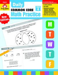 Evan Moor Daily Math Practice, Grade 4 Item Number