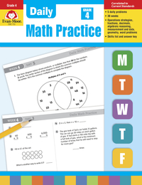 Math Practice, Math Review Supplies, Item Number 302278