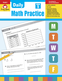 Math Practice, Math Review Supplies, Item Number 302281