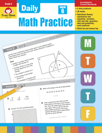 Math Practice, Math Review Supplies, Item Number 302284