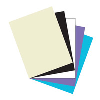 Array Card Stock Paper, 8-1/2 x 11 Inches, Classic Colors, Pack of 100 Item Number 318175