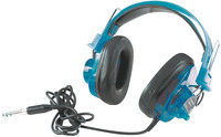 Califone 2924AVPS-BL Deluxe Stereo Headset, 10 Ounces, Blueberry Item Number 330082