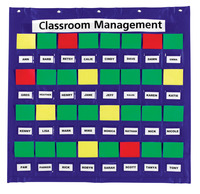 Classroom Management Charts, Classroom Management Systems, Classroom Calendar Pocket Charts, Item Number 336652